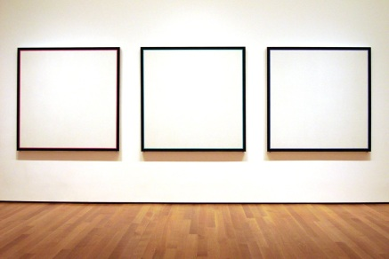 Primary Light Group: Red, Green, Blue - Jo Baer at Museum of Modern Art, NYC